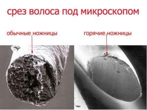 Стрижка горячими ножницами в салоне красоты на Ленинском
